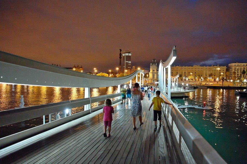 Фото барселоны моста