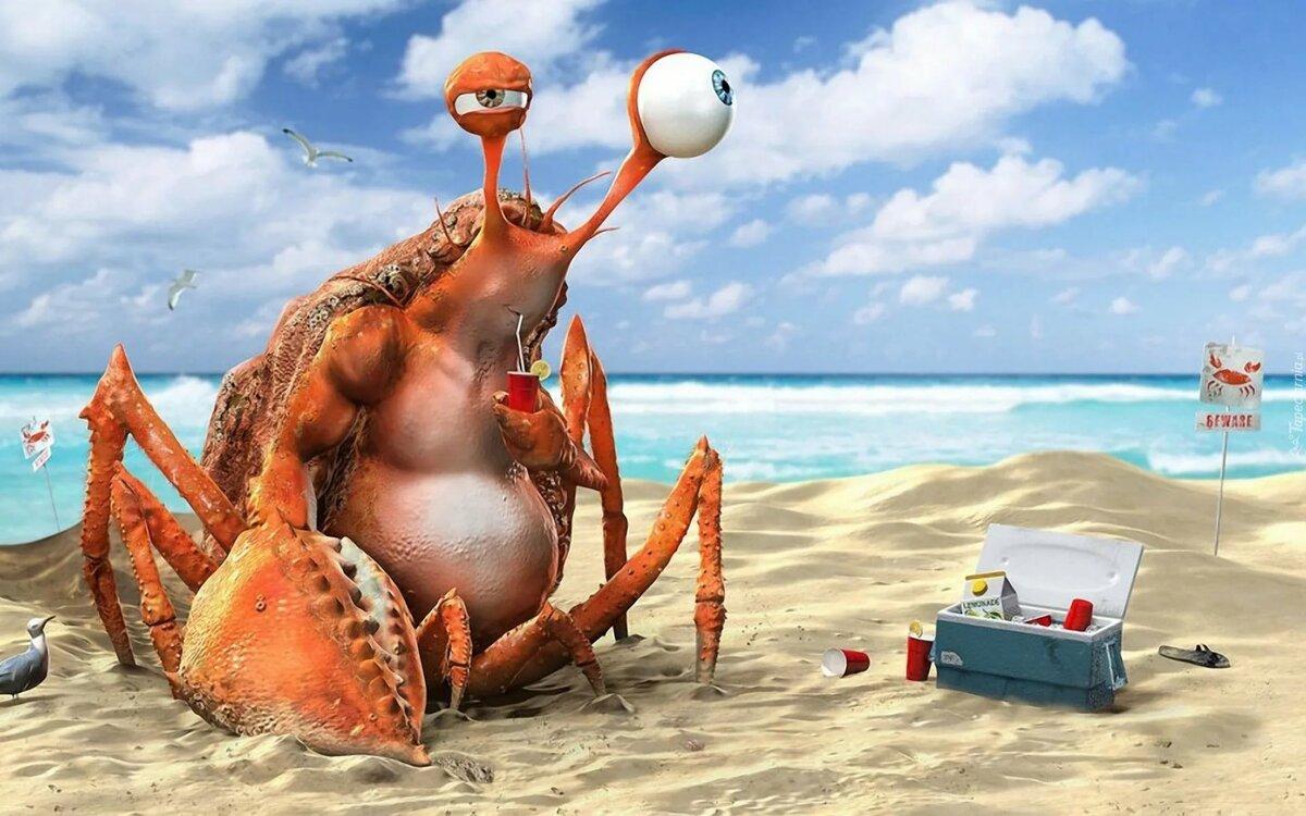 Смешные картинки на отдыхе у моря