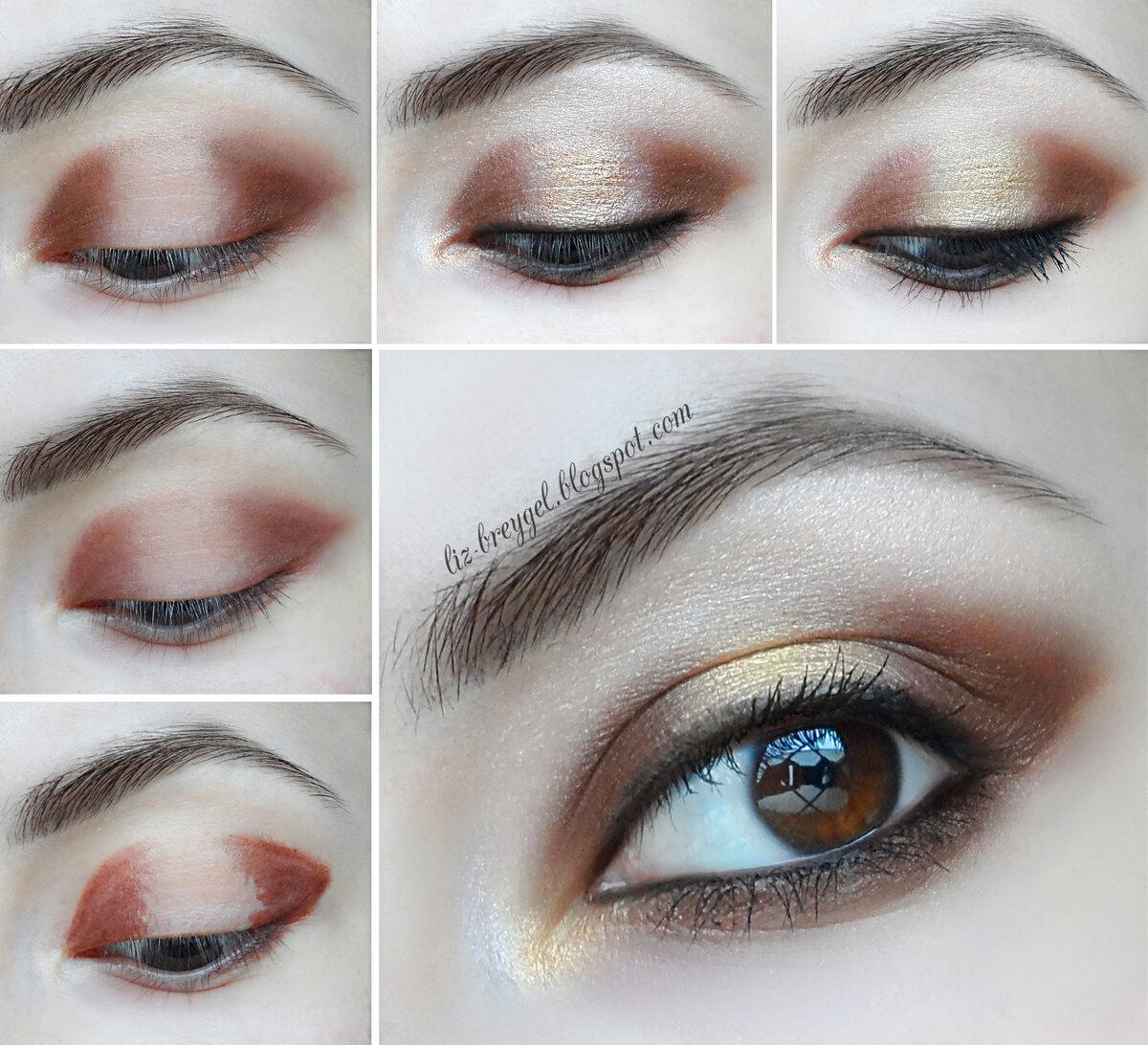 тому подача техники макияжа глаз в картинках хорошо