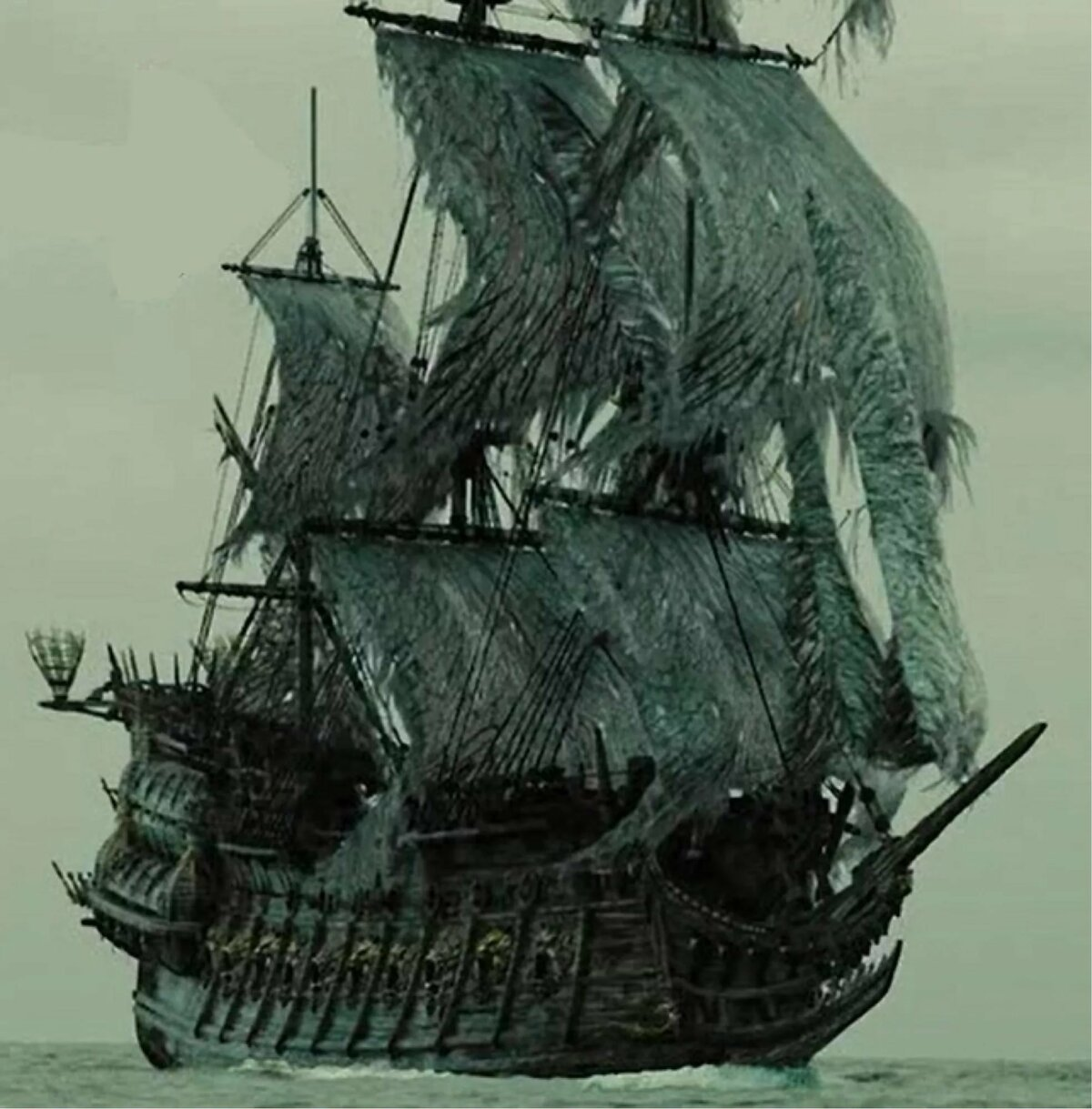 прогрессирует картинка пираты карибского моря летучий голландец образ пользуется огромной