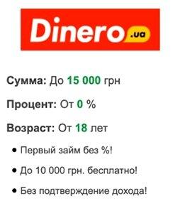 dinero кредит