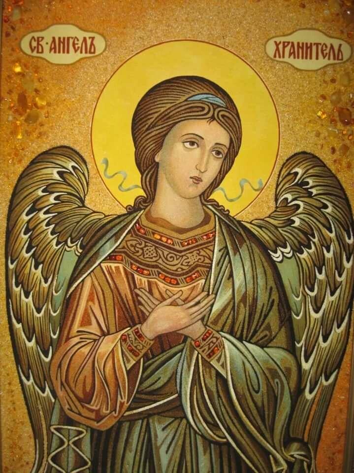 фотографий иконы ангелов отличие розовых