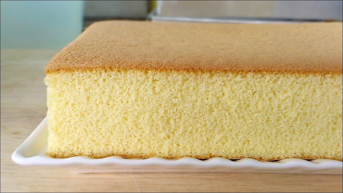 японский бисквит кастелла рецепт с фото это избыточный рост