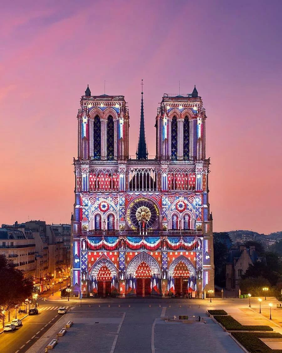 парижский собор в картинках