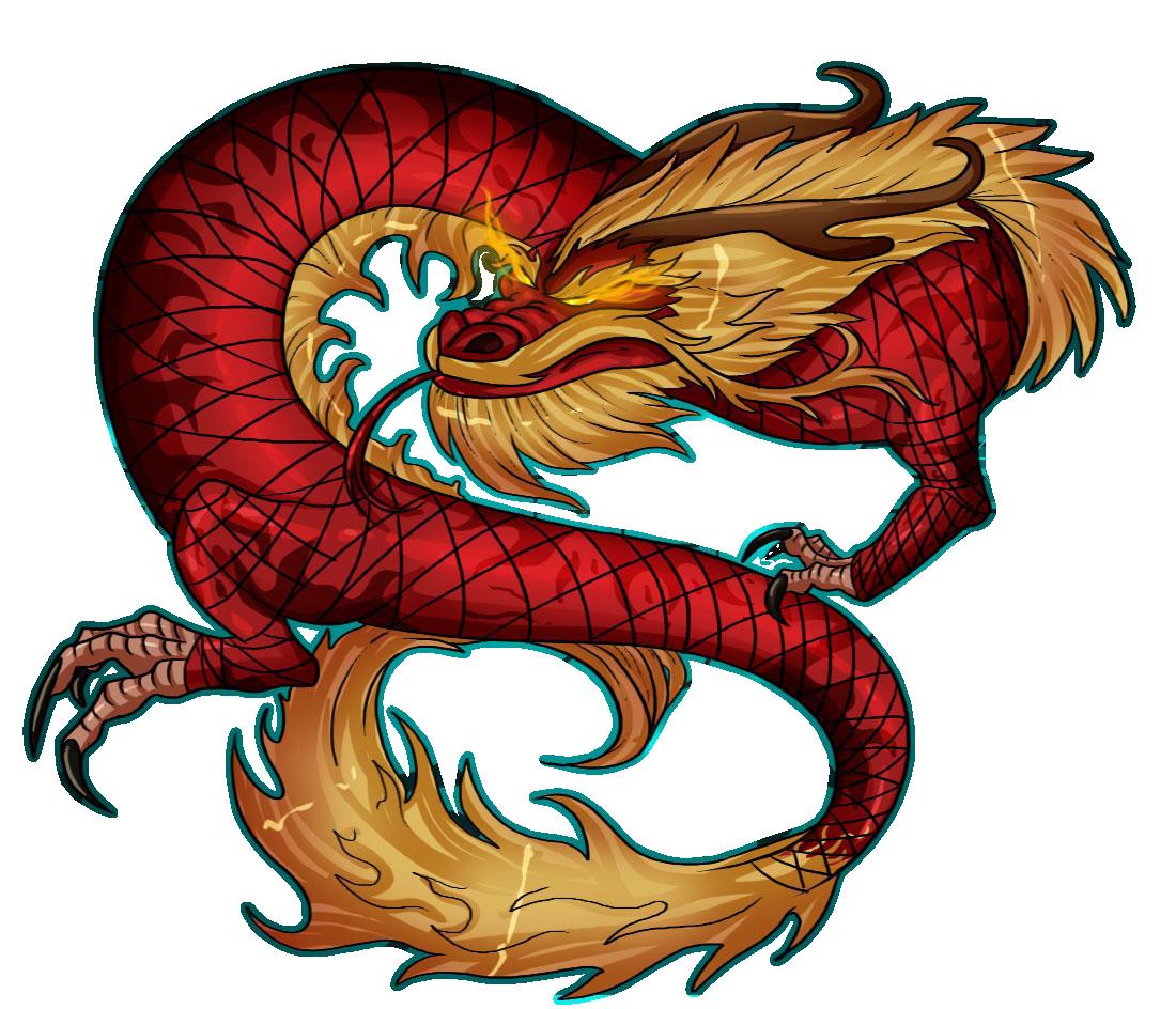 картинки с китайскими драконами нахуй, умею