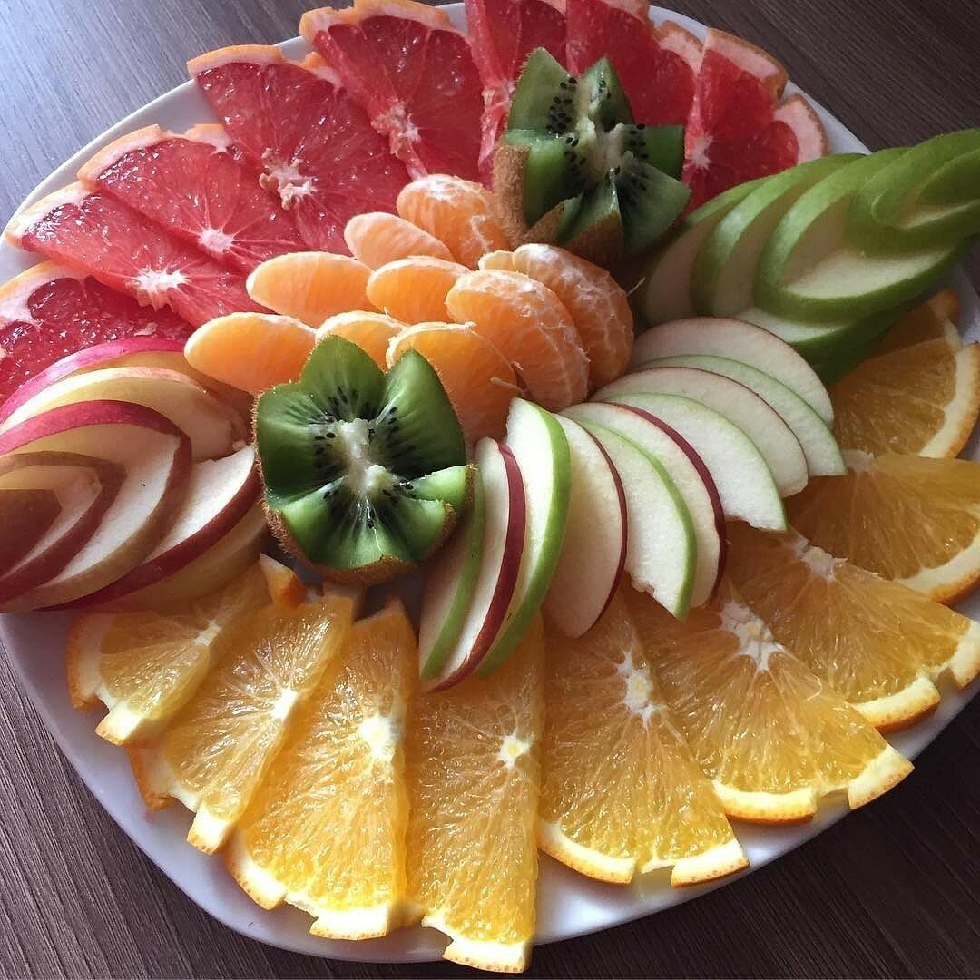 полчаса оформление блюд из фруктов фото картинки теплые