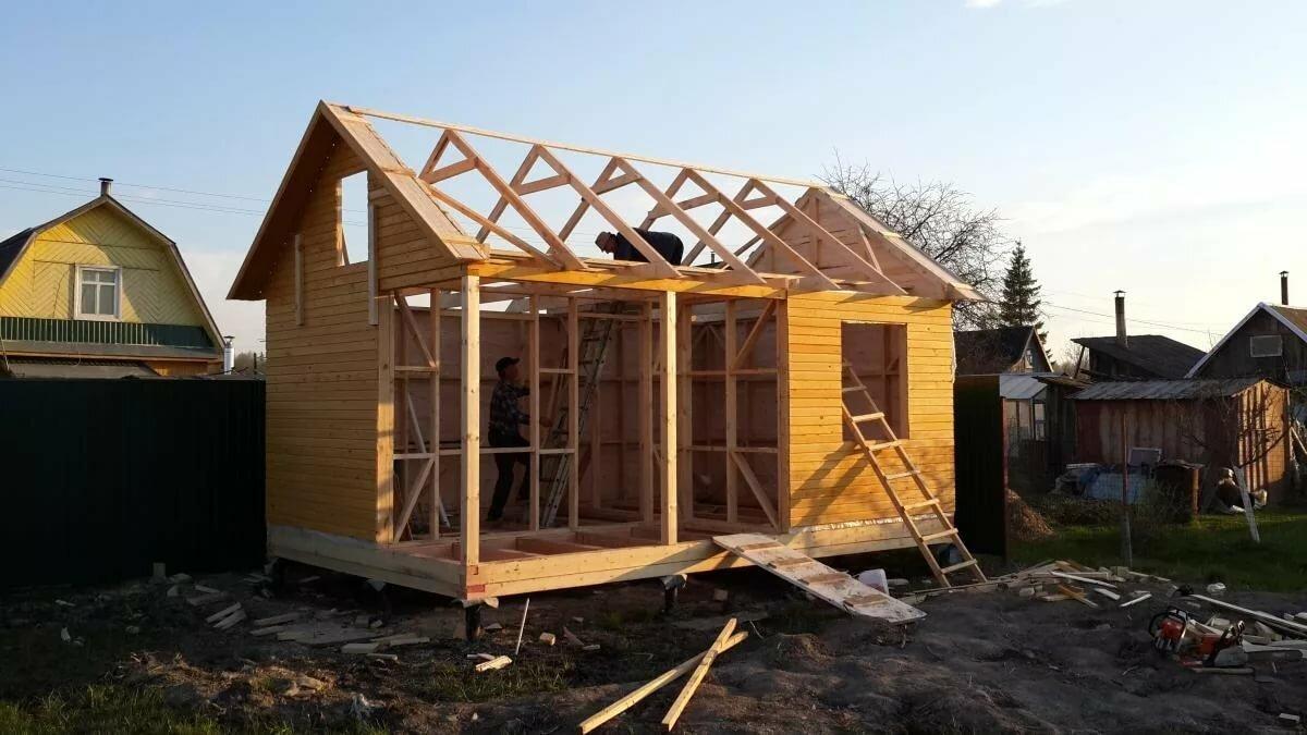 можете обработать поэтапное строительство дачного дома фото пудра может