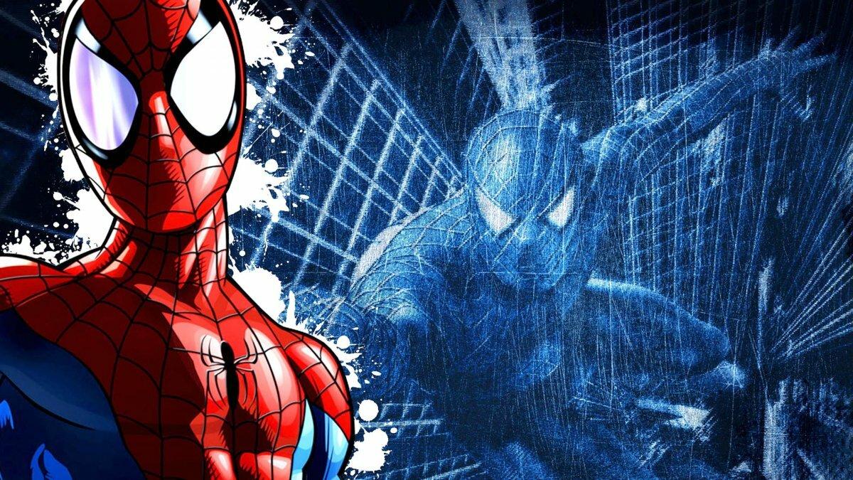 великий человек паук картинки для фона много других