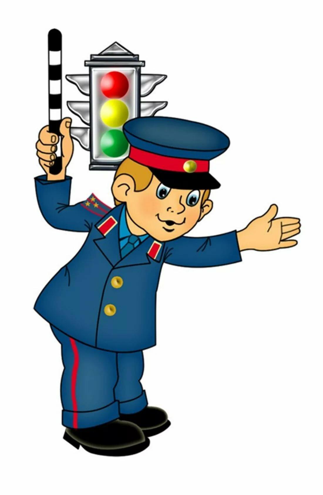 Картинки детские о полиции