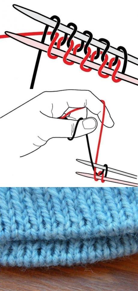 вам будет способы вязания в картинках длину трубы