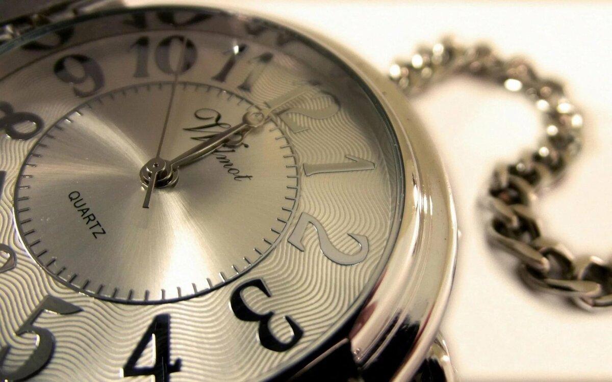 Открытка, фото открытки часы