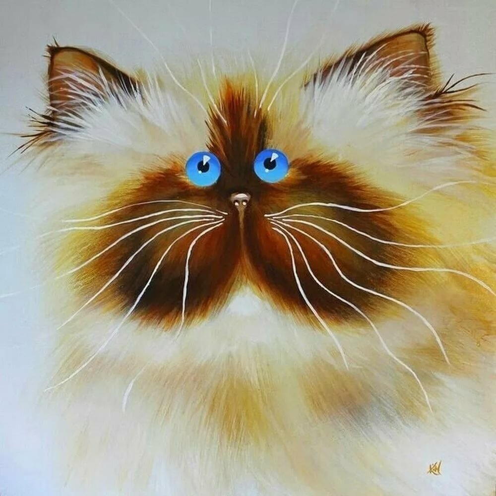 Рисунок смешных кошек шевалье результати