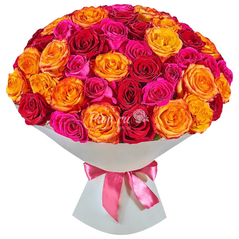Картинка роза микс