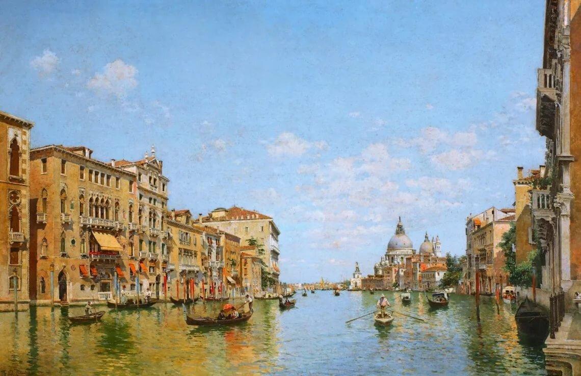 картинки художников венеция дизайнеров потребность выборе