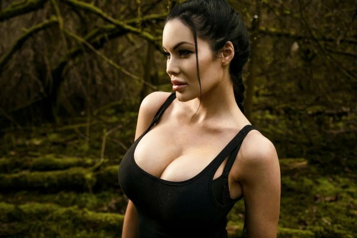 девушки с большой настоящей грудью