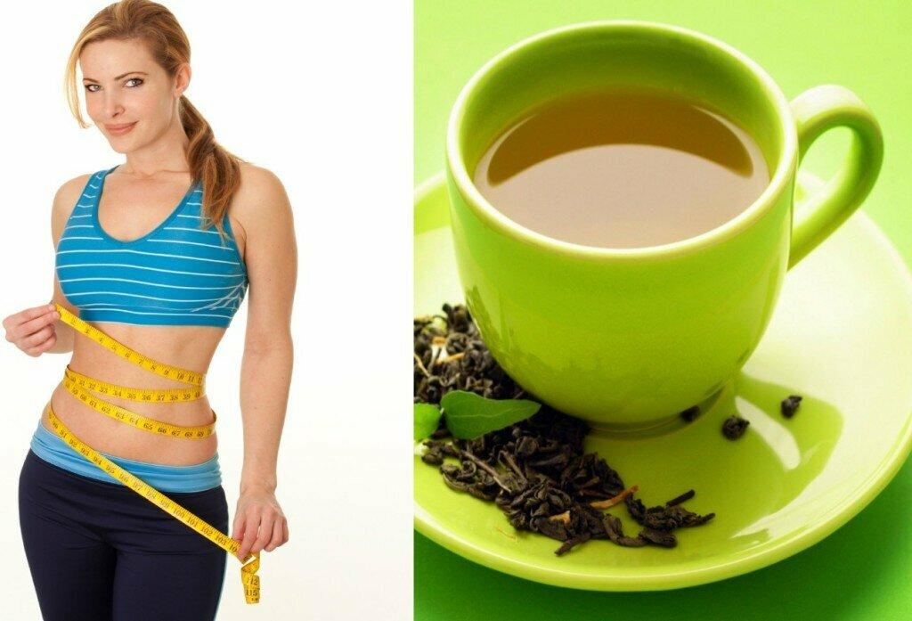 Чай вода похудение