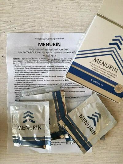 Menurin от простатита в Северодонецке