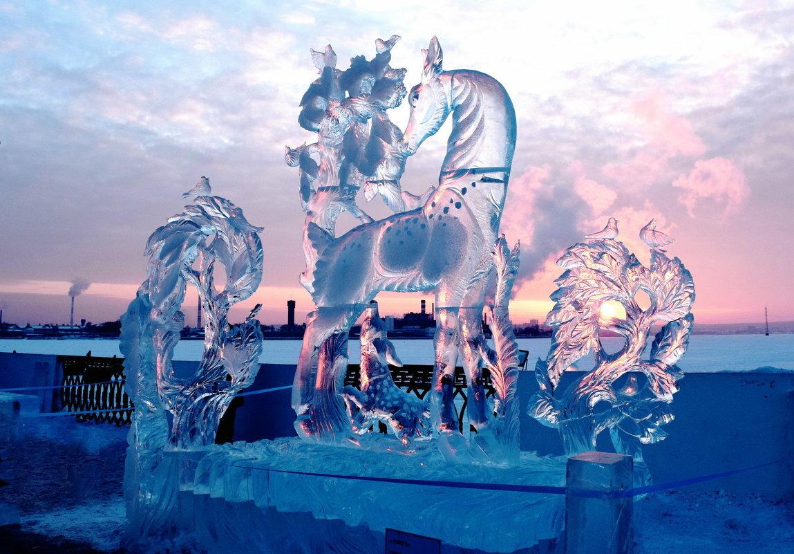 Картинки ледяных скульптур