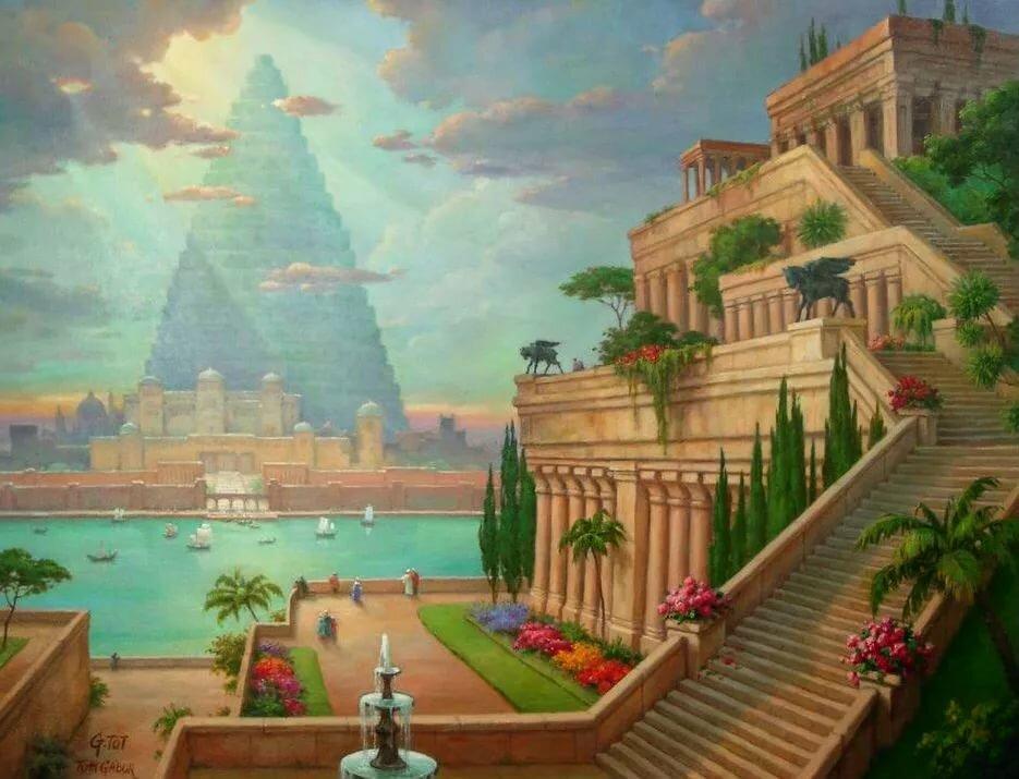 пользователю семь чудес света картинки сады семирамиды говорили