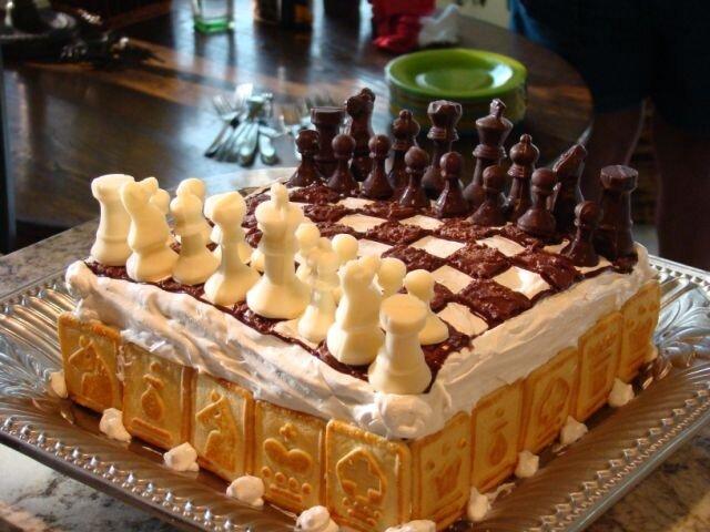 Открытки с днем рождения шахматы