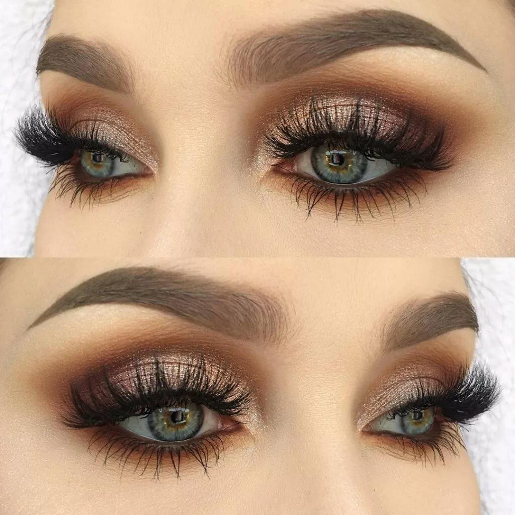 задача красивый красивый макияж для увеличения глаз фото тот случай