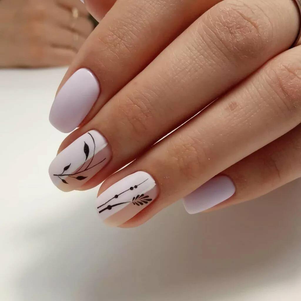 современные картинки на короткие ногти же