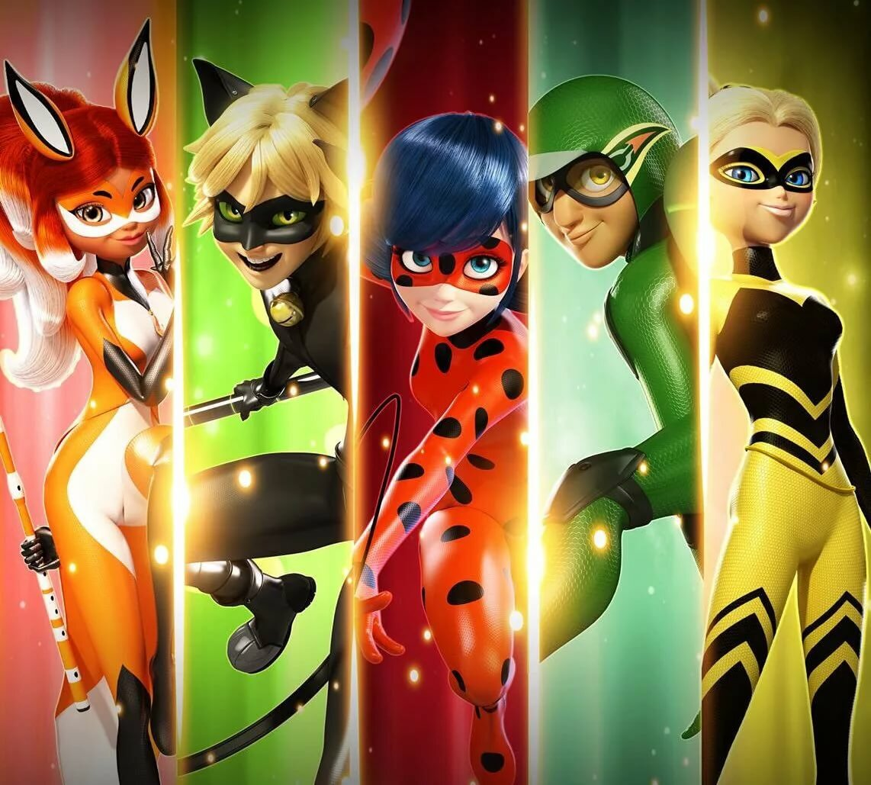 Все супергерои из леди баг и супер кот фото