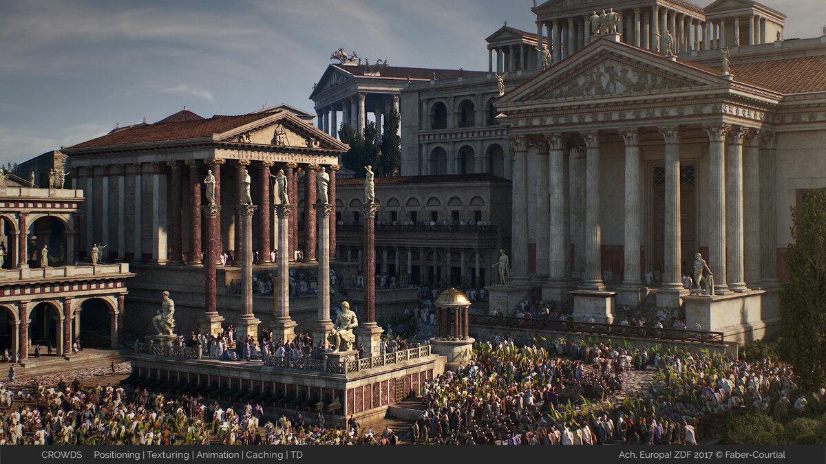 картинки римской эпохи легенде