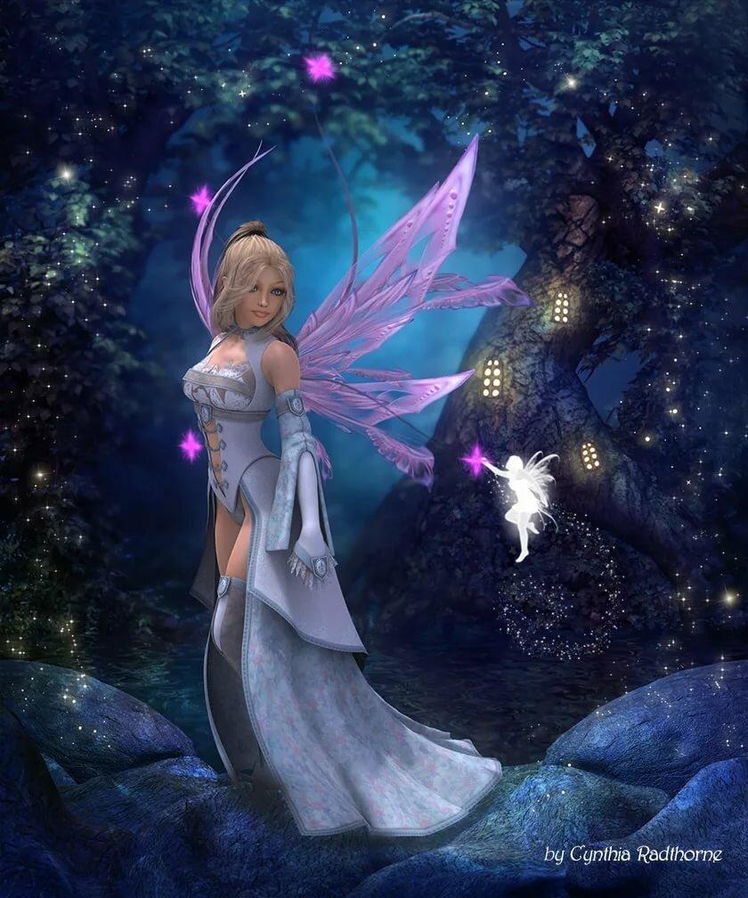 Картинки с крыльями фей