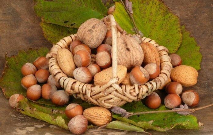 Хозяйки занимались также заготовкой лечебной настойки из перепонок орехов