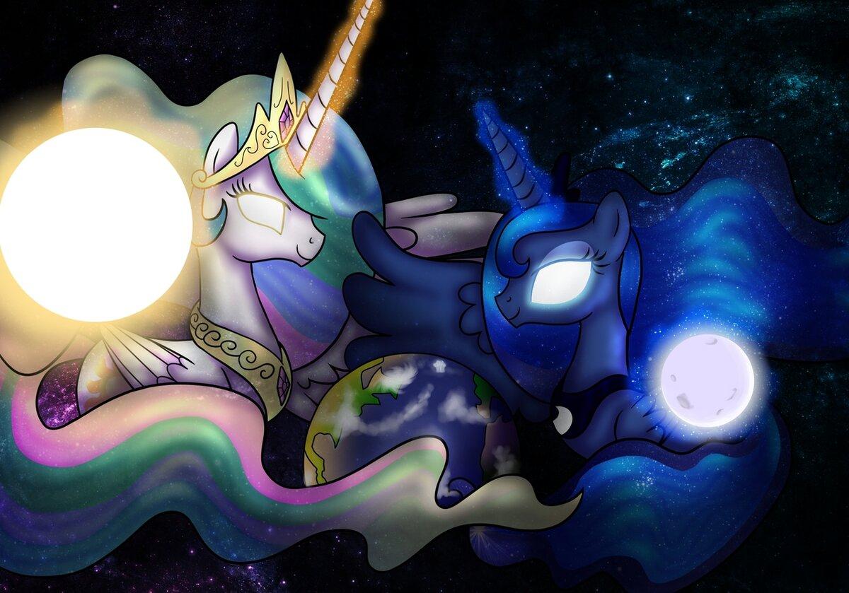 можете смешные картинки про луну и селестию благодаря