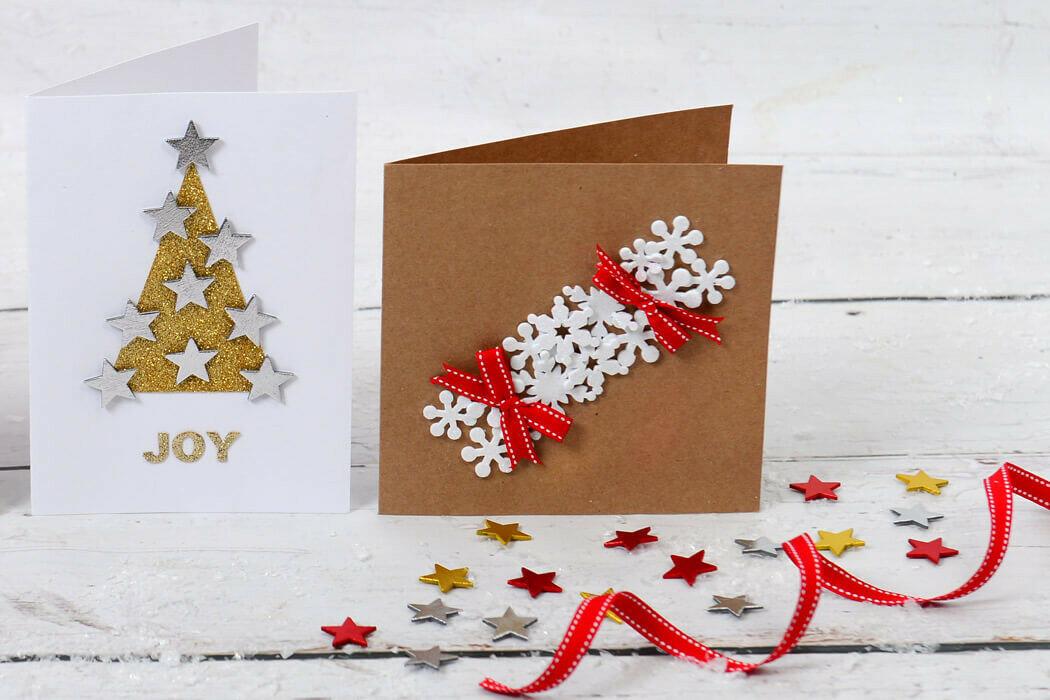 Оформление к новому году открытка