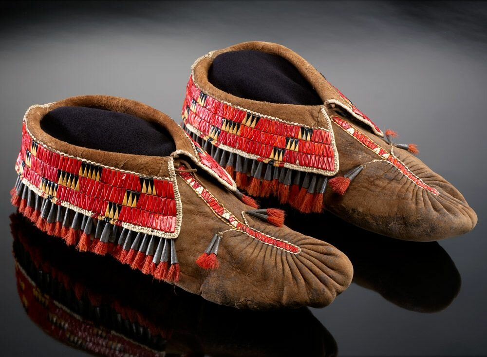 фото индейских мокасин вам
