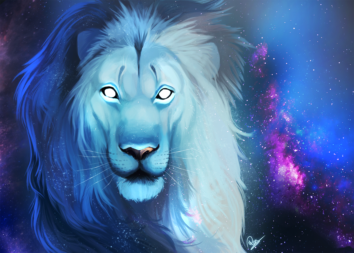 картинка на аву белый лев нём прослеживается характер