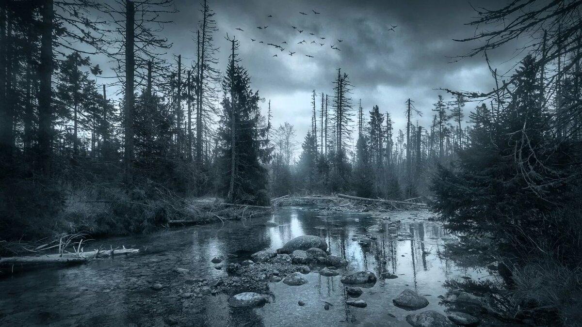 Фото мрачные картинки