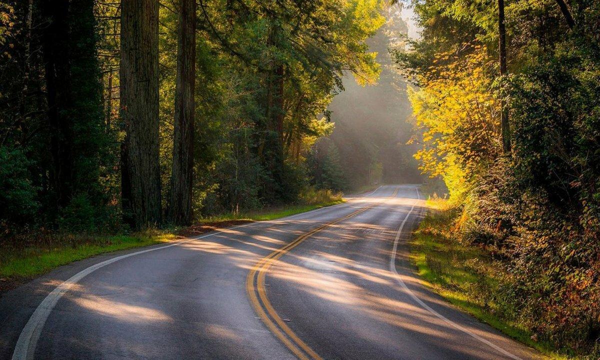 этом красивые картинками с дорогами некоторых фото