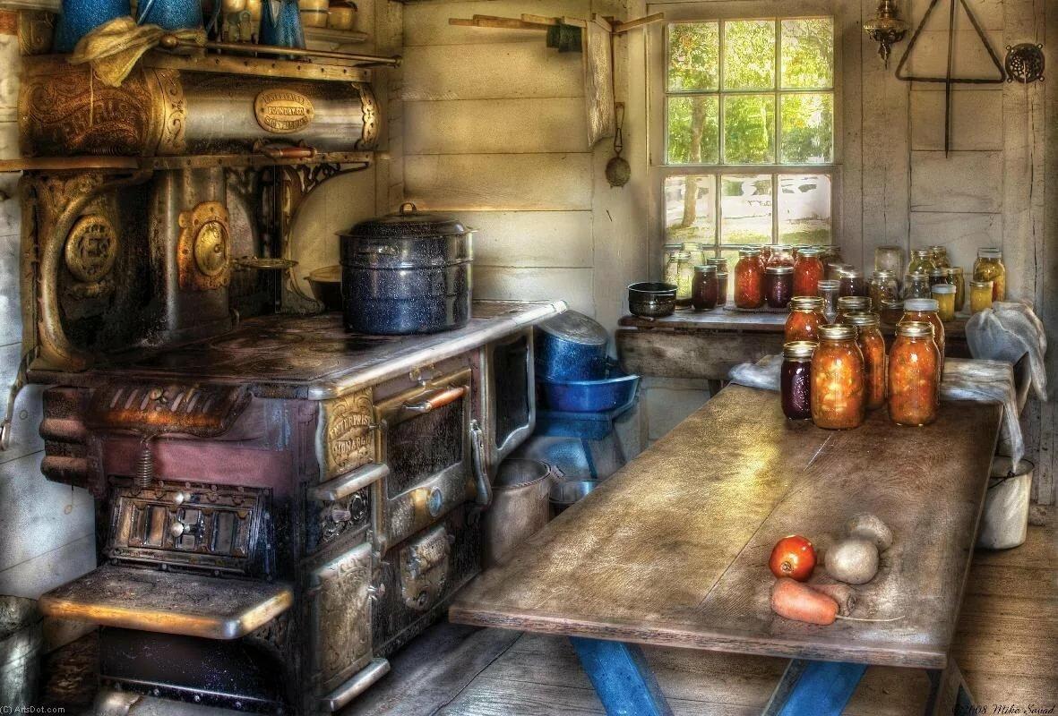 Фэнтези картинки в кухню