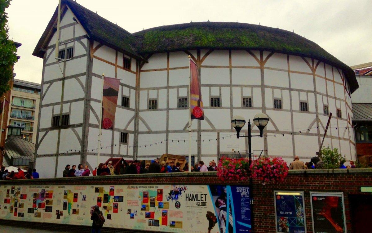 Картинка шекспир театр глобус