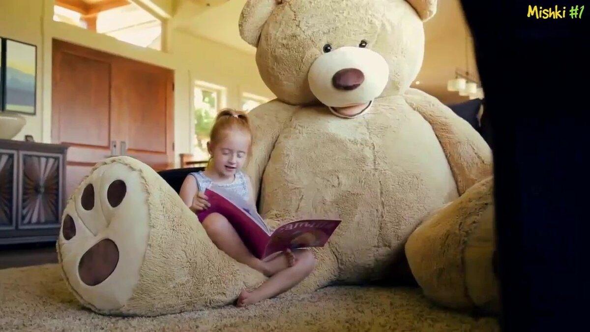 стикер, приклеенный самый большой плюшевый медведь в мире фото новых друзей городе
