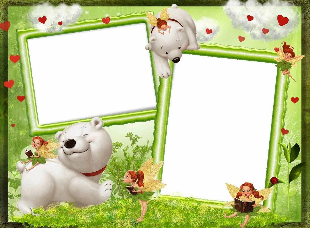 Рамки детские для фото картинки