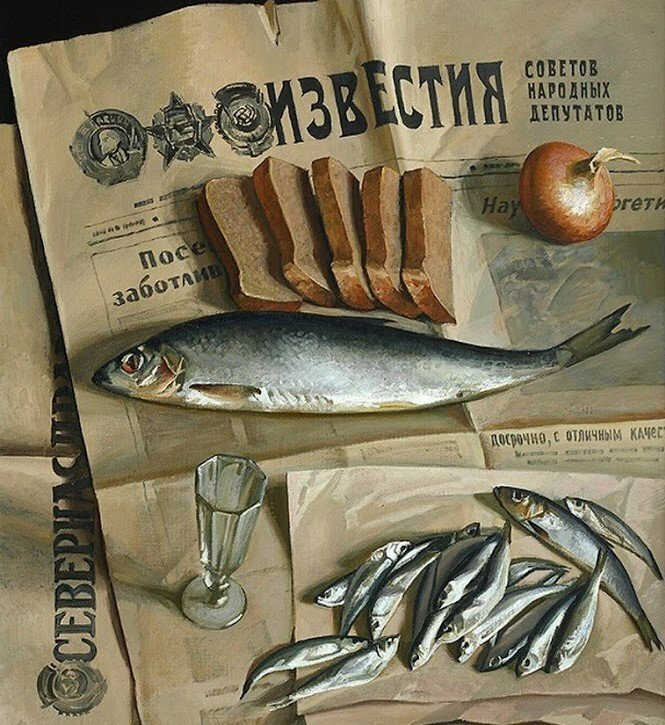 Советские плакаты про рыбалку