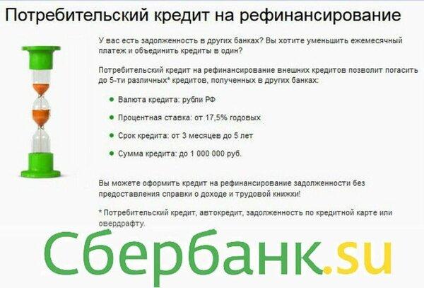 подать заявку на рефинансирование кредита в сбербанке для физических лиц альфа банк кредиты наличными без справки о доходах москва