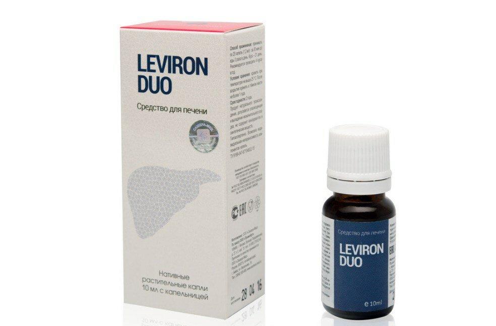 Средство для восстановления печени Leviron Duo