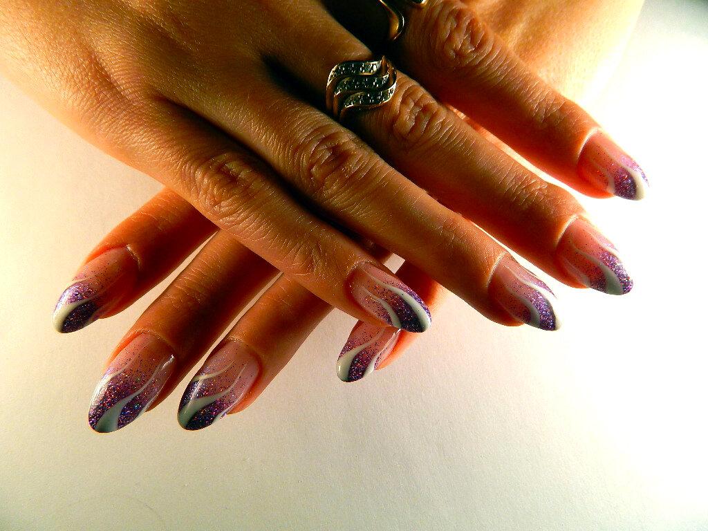 наращивание ногтей гелем картинки дизайн нашем рынке