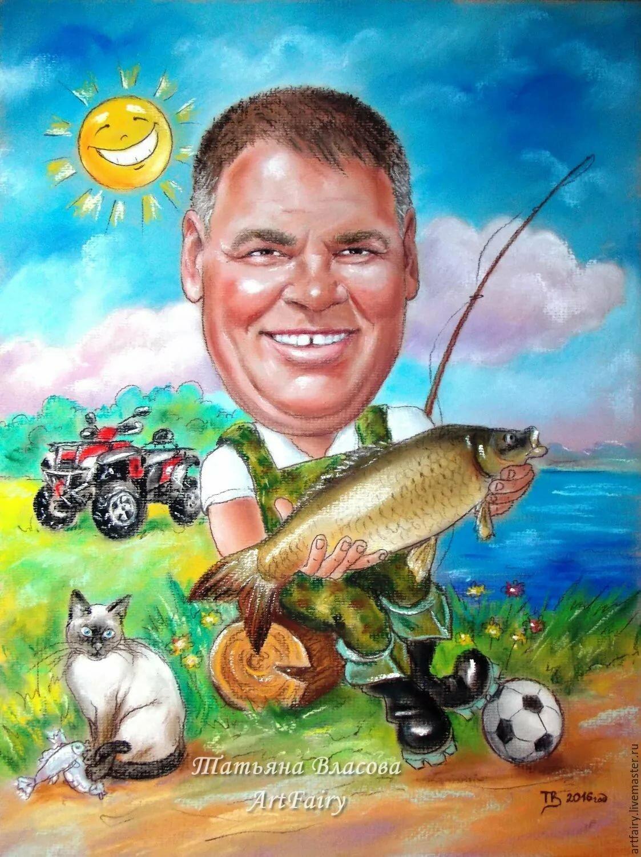 Картинки для рыбалки мужчинам прикольные