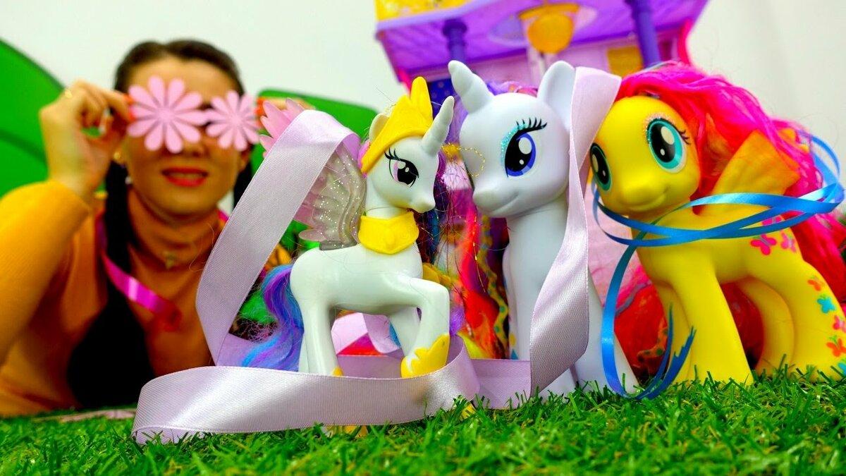 смотреть картинки про игрушки про пони рождество крестной