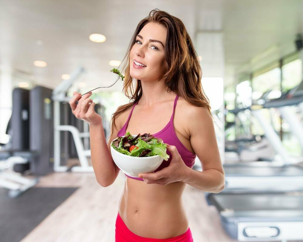 похудение за счет правильного питания