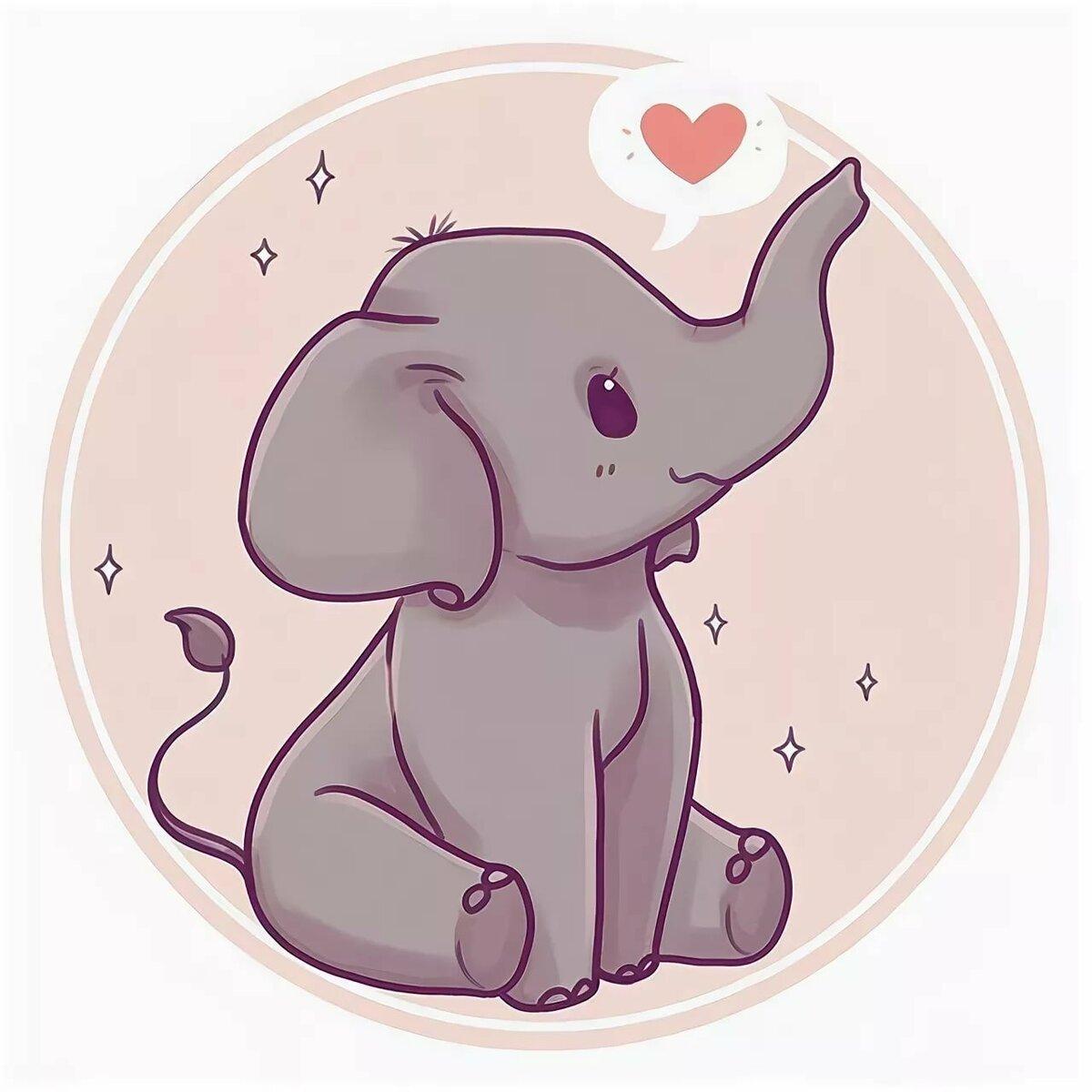 картинка милого слона съдобный мужской букет