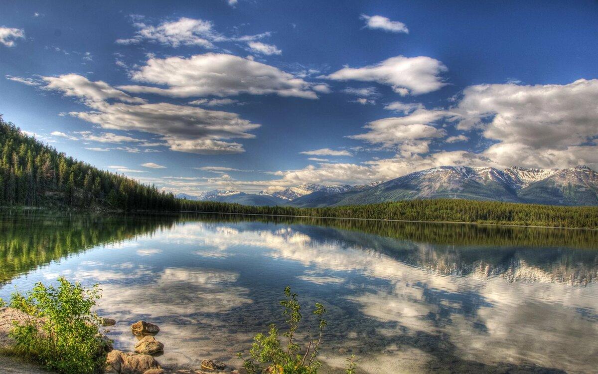 была природа в картинках большой размер линия воды водоем