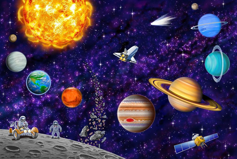 Картинки с изображением космоса для детского сада